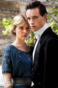 Eddie Redmayne and Clemence Poesy