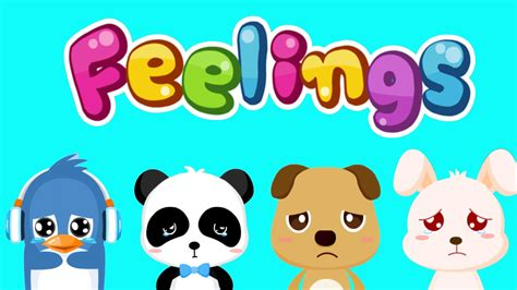 Kids Learn To Recognize Feelings & Emotions  Baby Panda Feelings Emotional Growth By Babybus