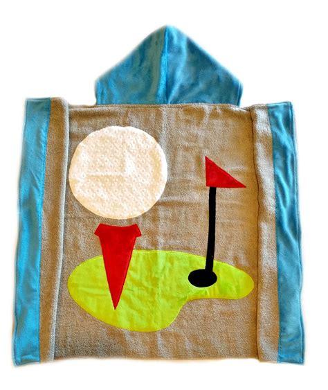 golf toddler towel purple pumpkin gifts