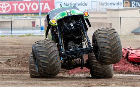 Grave Digger Monster Truck Feature Video Motor Trend