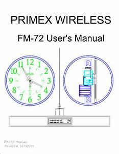 Primex Wireless Fm72 Part 90 238 Telemetry Transmitter