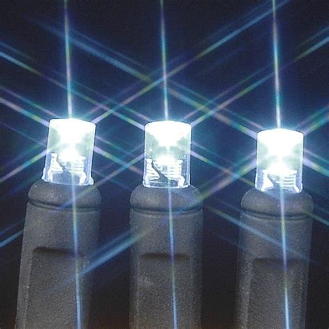 commercial outdoor led string lights wide angle pure white 100 bulb led christmas lights sets