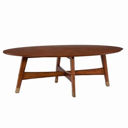 Coffee Oval Tables Century Mid Furniture Rhoda