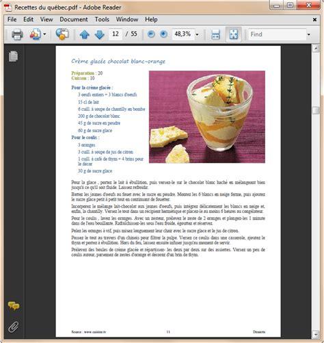 recettes cuisine pdf le collectionneur de recettes logiciel de recettes et