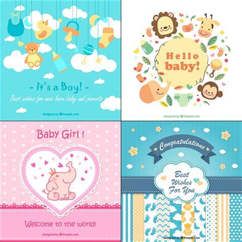 kartu ucapan kelahiran bayi gift card greeting card