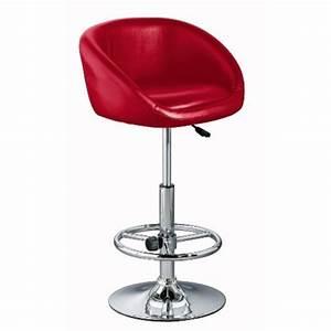 Chaise De Bar Rouge : la chaise haute de bar quelle mod le choisir selon l 39 int rieur ~ Teatrodelosmanantiales.com Idées de Décoration