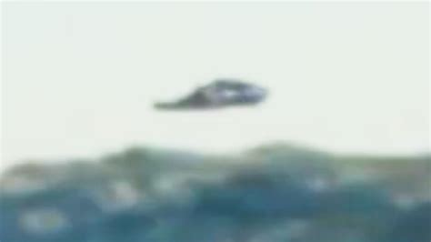 Flying Ufo Boat by Ufo Flying In The Sea On Island Of Pag Croatia On 10 08