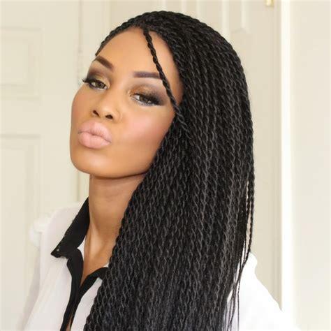 senegalese twist braids medium size google search hair
