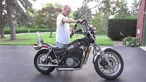 1984 Honda Shadow 1st Startup After Resurrection