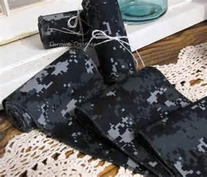 Navy Digital Camo Ribbon