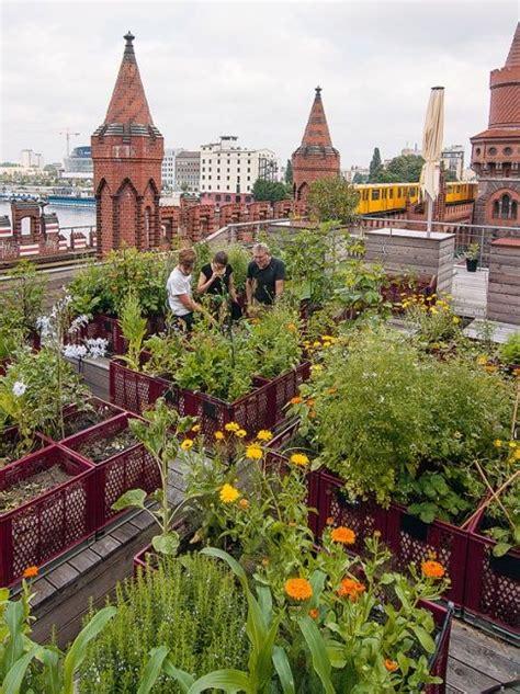 Ueber Den Daechern Der Stadt Dachterrasse by Gardening Gemeinschaftsg 228 Rten In Der Stadt Meine