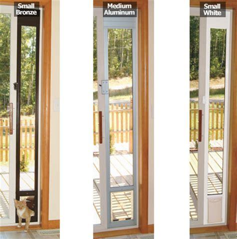 cat door for window petsafe deluxe patio panel timer
