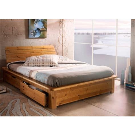 chambre en pin lit en pin miel 160x200 dans chambre adulte achetez au