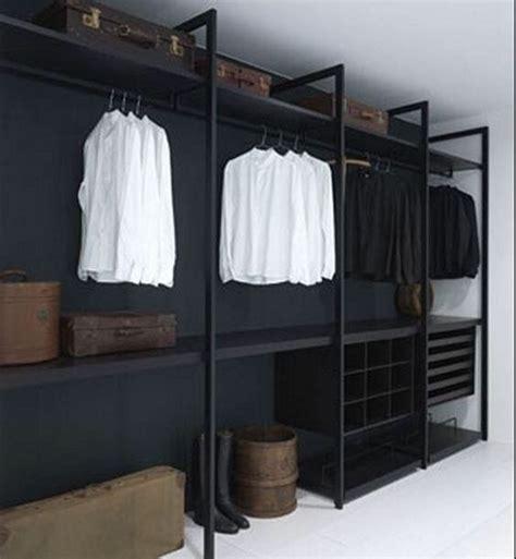 Das Ankleidezimmer Moderne Wohnideenankleidezimmer In Schwarz by Pin By Smalley On Remodeling Open Wardrobe Walk