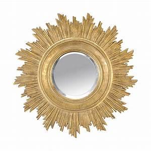 Miroir Doré Rond : espejos redondos en forma de sol lovetendencias ~ Teatrodelosmanantiales.com Idées de Décoration
