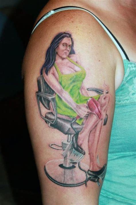 hairstylist tattoos