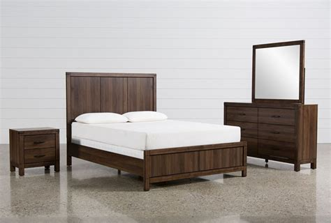living spaces bed sets willow creek 4 bedroom set living spaces 7144