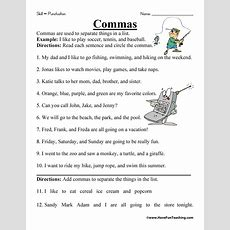 Punctuation Worksheets  Have Fun Teaching