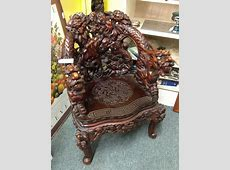 Carved dragon chair Left Behinds Pinterest Chairs