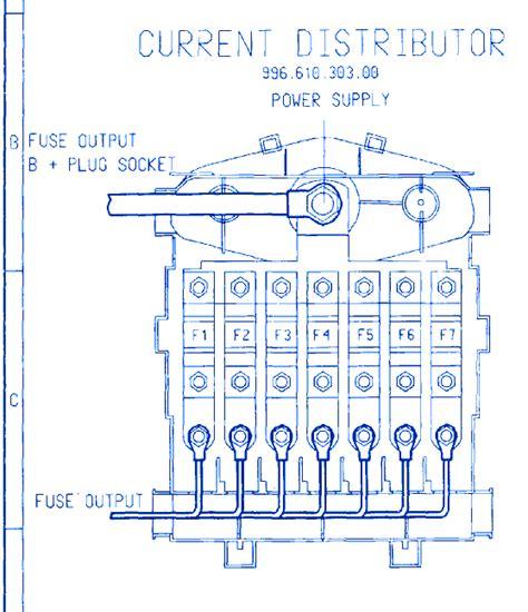 2002 Porsche Boxster Fuse Box by Porsche Boxter 2005 Engine Fuse Box Block Circuit