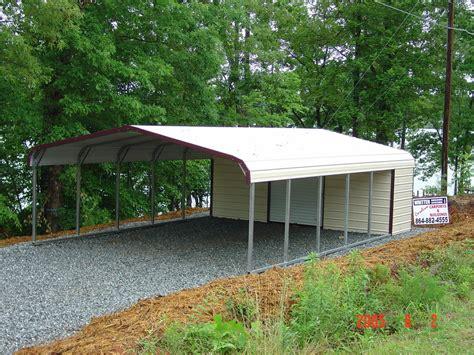all steel carports carports oregon or metal steel rv utility