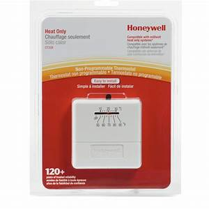 Honeywell  Manual Low Voltage Thermostat    Fennell  U0026 Gage