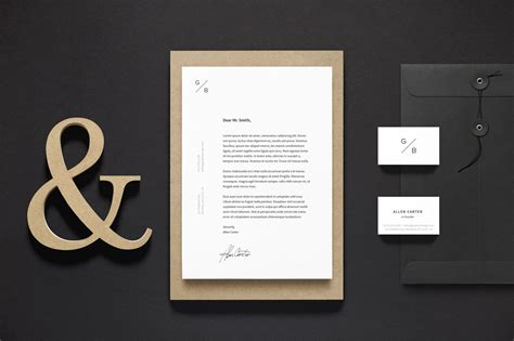 Free A4 Letterhead & Business Card Stationery Mockup Psd Business Card Design Handyman Letters Etiquette Lesson Plan Letterhead Template Coreldraw Legal Hamilton Cards For Advertising Agency Letter With And Table