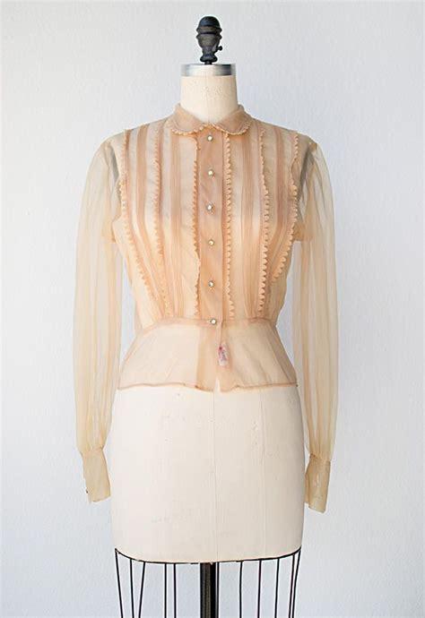 vintage  blouse fair rosamund blouse
