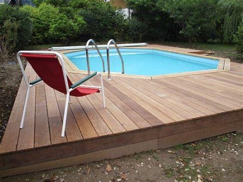 piscine bois rectangulaire enterree piscine bois enterr 233 e kit