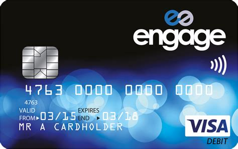 engage account  contactless debit card