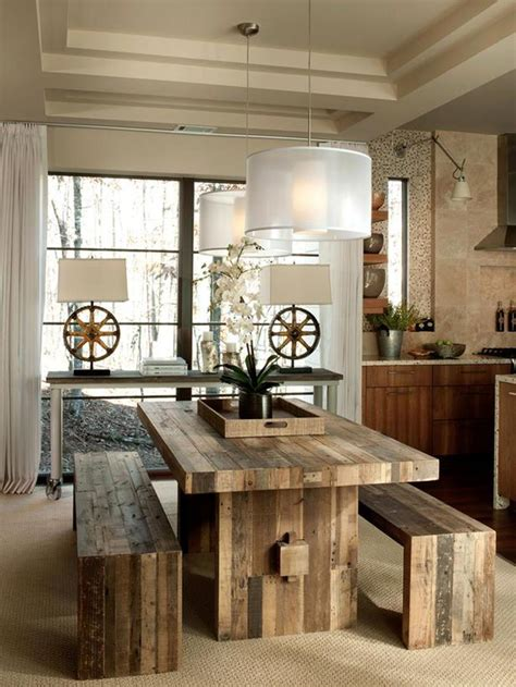 Rustic Chic Dining Room Ideas by 24 Totally Inviting Rustic Dining Room Designs Page 3 Of 5