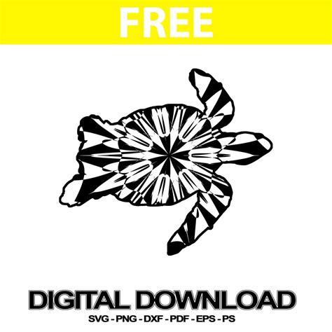 Free mandala svg, png, jpg, eps & dxf by digitalistdesigns. Sea Turtle Free Svg Cut Mandala Clipart | Svg Free ...