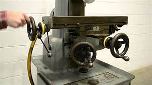 Hardinge TM-UM Horizontal Universal Mill - YouTube