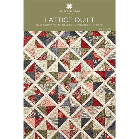 missouri quilt company digital lattice quilt pattern by msqc