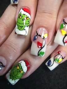 Merry christmas nail art designs