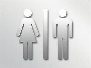 28 best images about male and female bathroom signs on for Cool bathroom signs