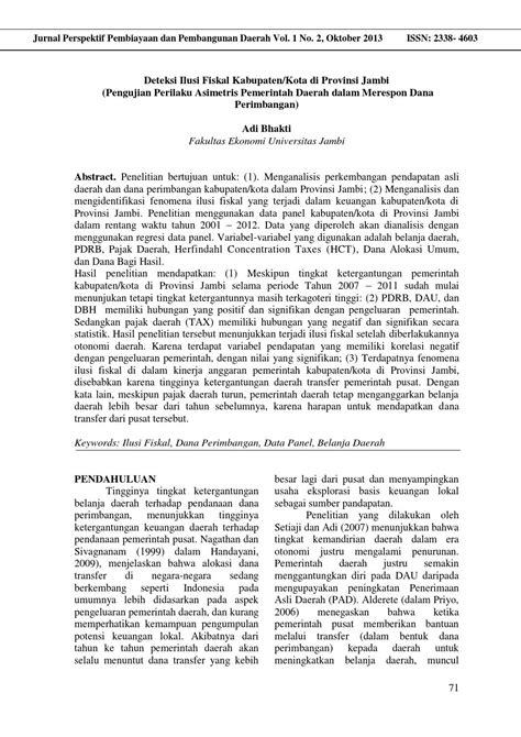 Jurnal adi bhakti (hal 71 80) by Jurnal Perspektif