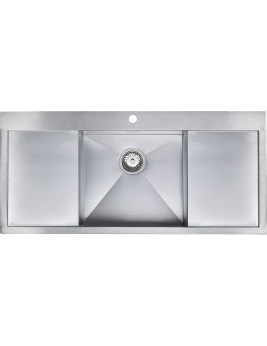 square kitchen sink with drainer zenuno 45 i f single bowl sink side drainers 8211