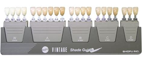 Hair Shade Guide by Vintage Shade Guide Premiere Dental Sdn Bhd Malaysia