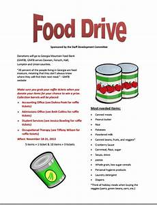 canned food drive flyer template 20 free food flyer ...