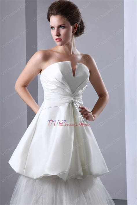 Beautiful Vshaped Strapless Corset Make Your Own Wedding