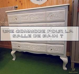 Commode Pour Salle De Bain : une commode retap e style gustavien pour la salle de bain ~ Teatrodelosmanantiales.com Idées de Décoration