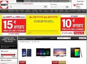 Promo Castorama 15 Par Tranche De 100 : darty 15 ou 10 euros de bons d 39 achats offerts par ~ Dailycaller-alerts.com Idées de Décoration