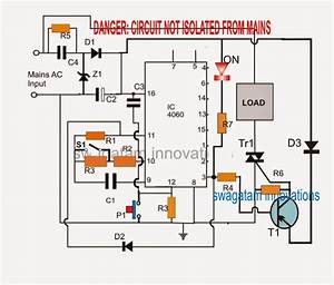 Simple Geyser Water Heater Timer Circuit