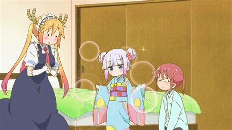 kobayashi san chi  maid dragon episode   relaxed