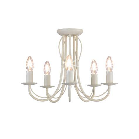 wilko 5 arm chandelier metal ceiling light fitting