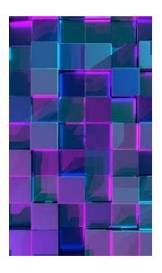 3D cubes 4K Wallpaper, Geometric, Neon, 3D background ...