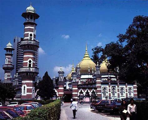 great mosque  kuala lumpur view  north facade