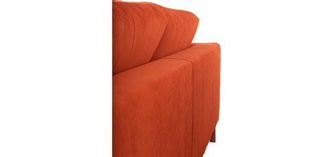 canapé a prix cassé canapé en velours orange commandez nos canapés en