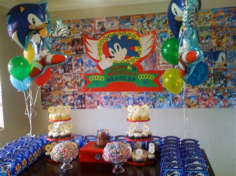 1000+ Images About Aden's Sonic Birthday Party May 2014 On Soup Kitchens Dc Kitchen Faucet Repair Kit Angelicas Nyc Aide Food Processor Austin Outdoor Prestige Cabinets California Pizza Bronze Cabinet Knobs